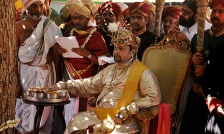 Srikantandatta Narasimharaja Wodeyar, the late maharajah of Mysore, died in 2013.