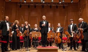 Claudio Abbado and the Orchestra Mozart