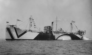 S.S. Alloway, American Freighter, 1918