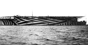 HMS Argus aircraft carrier, 1918