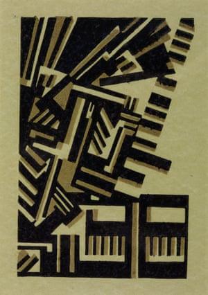The Port, c1915 by Edward Wadsworth