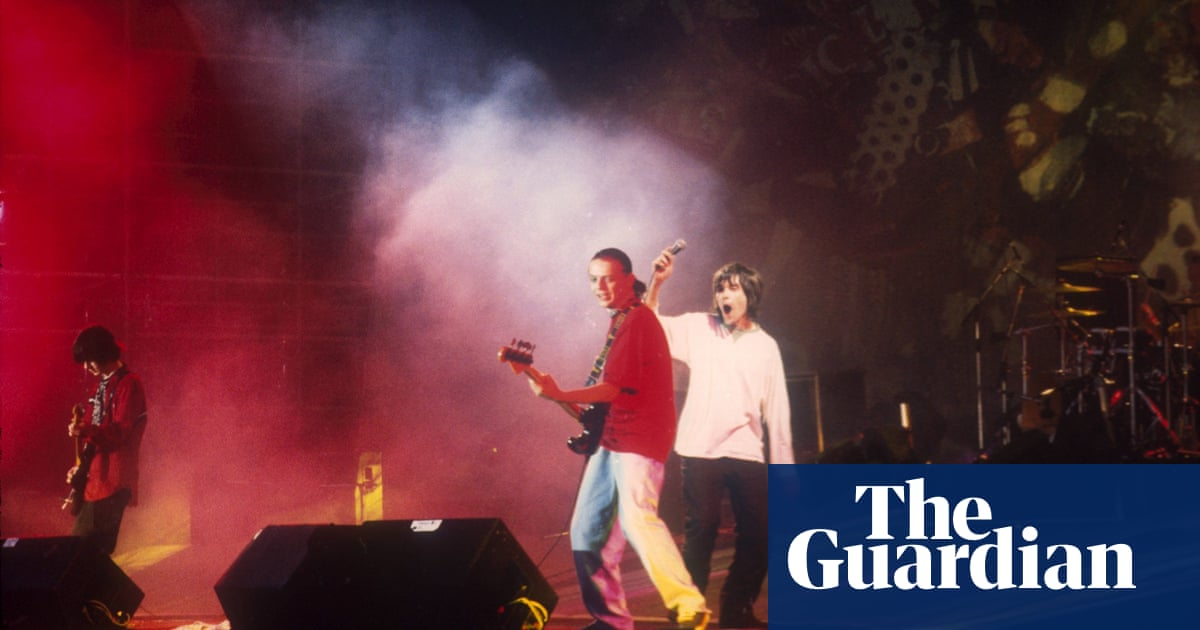 fb160911c02 A cold night of chemical hair  the reality of the Stone Roses at Spike  Island