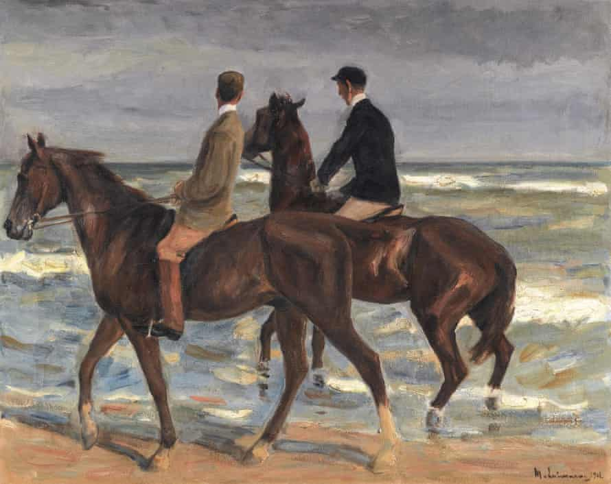 Two Riders On a Beach