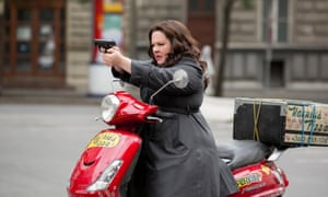 A pizza the action: Melissa McCarthy in Spy.