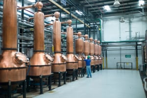 The primary distillation of Patron is done in large copper pot stills which were specifically designed by Patron's founder Francisco Alcaraz