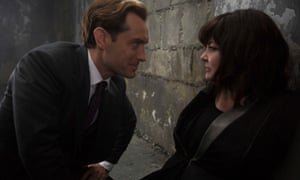 Shaken, not stirred: McCarthy with co-star Jude Law in Spy.