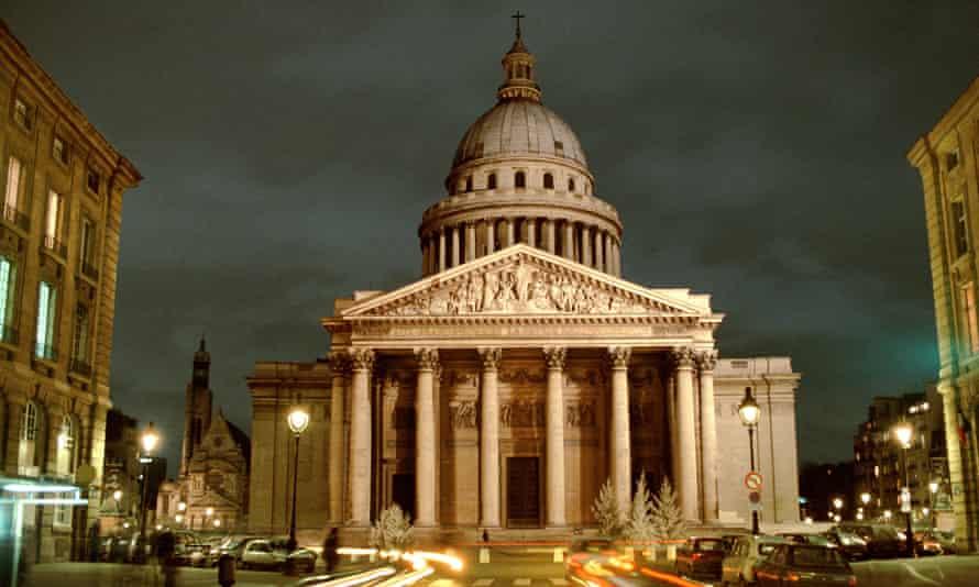 The Pantheon, place des Grands Hommes.
