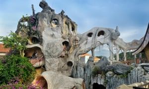 Crazy House Hotel, Hang Nga Guesthouse, Dalat, Central Highlands, Vietnam