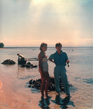 PJ Kavanagh with his wife Sally in Bali in 1958