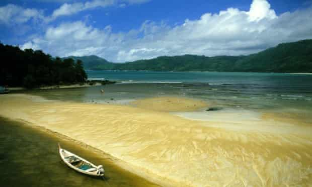 Goldie's perfect day would include a morning swim and yoga on the beach in Phuket.
