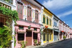 Soi Rommanee in Phuket Old Town.