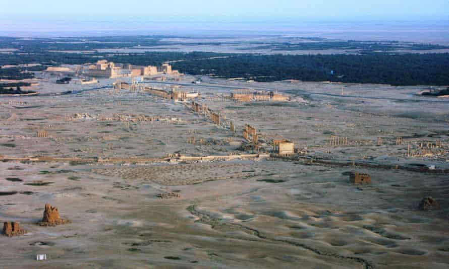 There are fears for Palmyra's extensive silk-road ruins after Isis seized control last week, and the Assad regime carried out bombing raids this week.