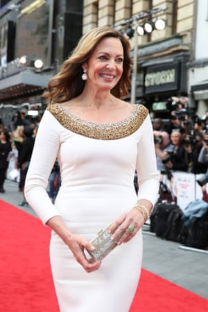 London, UK Actress Allison Janney attends the premiere of Spy at Odeon Leicester Square