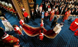 'Perhaps today's Queen's speech was one speech too many for the Queen.'