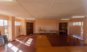 Inside one of the Fifa-funded projects in Zambia.