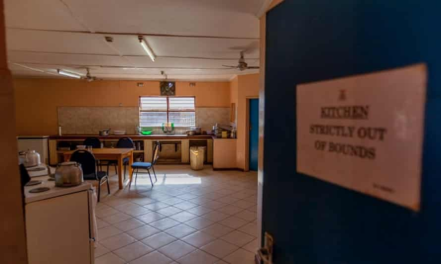 The kitchen at Zambia's National Technical Centre, which Fifa approved at a cost of nearly $800,000.