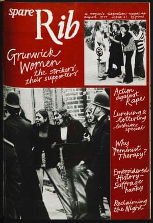 Aug 1977 Grunwick women Issue 61