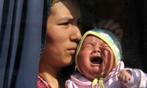 Kyrgyzstan mother and baby