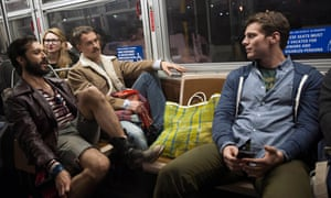 Gay normcore … Agustin, Dom and Patrick in Looking. Photograph: HBO