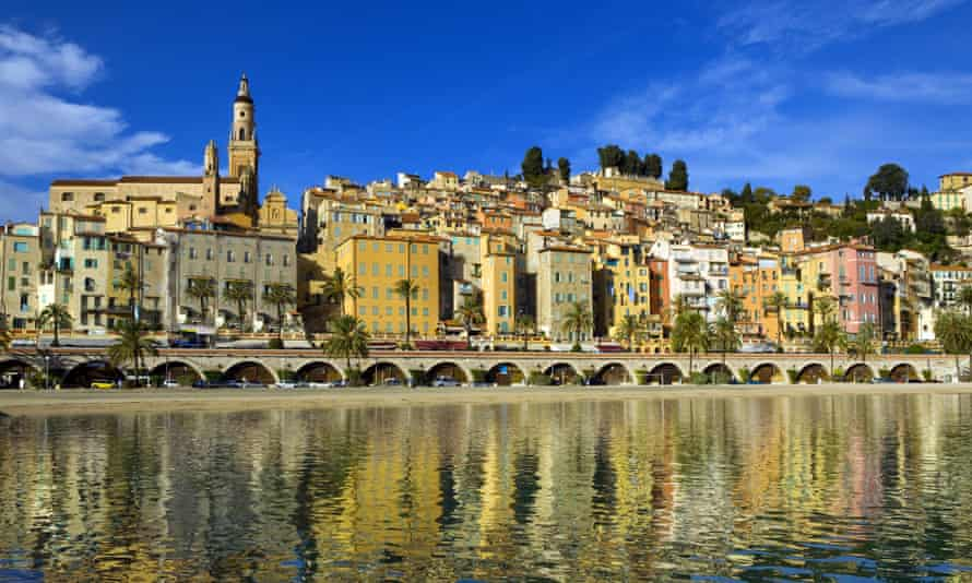 'When we bathed in Menton, shoals of small fish skidded across the harbour's clear water like shadows.'