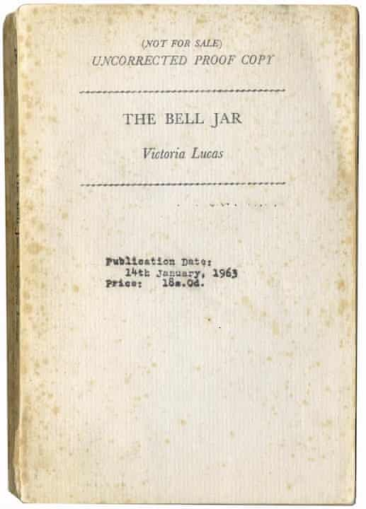 The Bell Jar proof