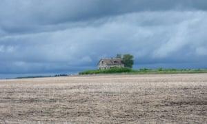 A derelict housenear Benito, Manitoba