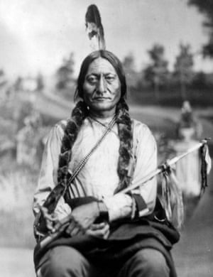 Sioux chief Sitting Bull in the 1880s.