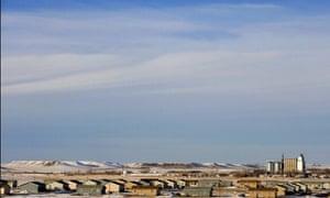 Standing Rock Reservation.