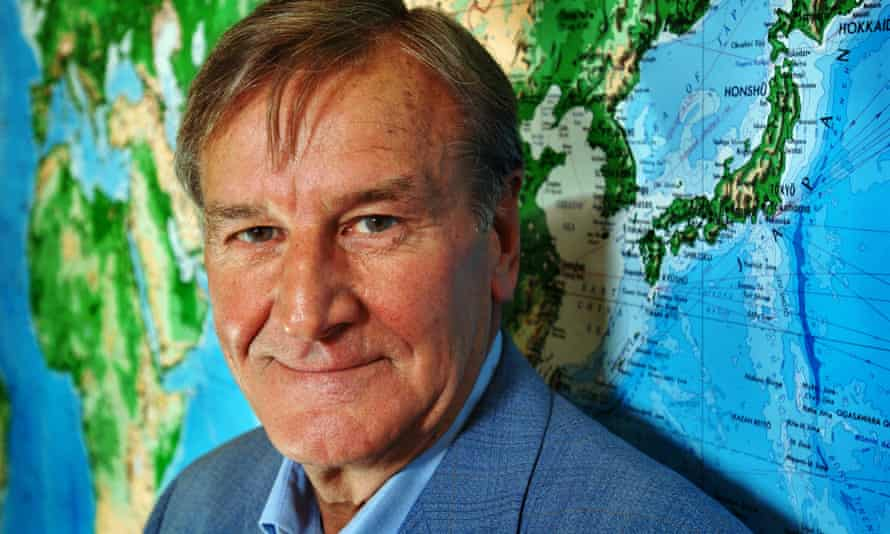 Mike D Gooley, founder of Trailfinders travel agency.