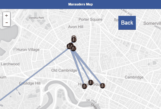 Marauders Map: the app that stalks Facebook Messenger users