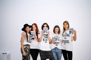 Slogan t-shirts at Australian brand, The House of Riot