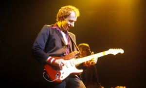 Mark Knopfler of Dire Straits, quick to see the potential of CD as a format.