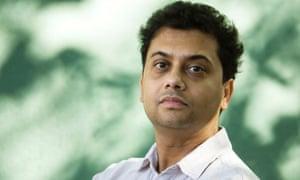 Neel Mukherjee. Photograph: Murdo MacLeod for the Guardian
