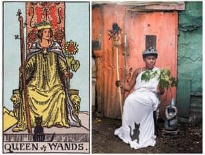 Ghetto Tarot: Queen of Wands