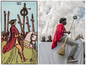 Ghetto Tarot: The Six of Wands
