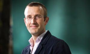 Robert MacFarlane. Photograph: Murdo Macleod for the Guardian
