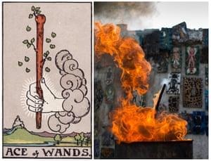 Ghetto Tarot: Ace of Wands.