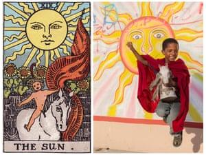 Ghetto Tarot: The Sun.