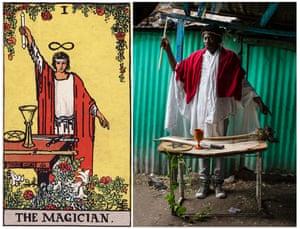 Ghetto Tarot: The Magician.