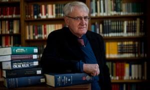 John Sutherland. Photograph: Sarah Lee for the Guardian