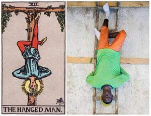 Ghetto Tarot: The Hanged Man