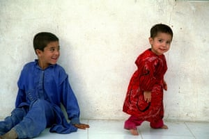 Afghan children in Iran