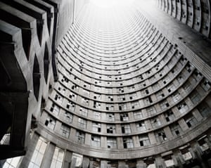 Looking up the Core, Ponte City, Johannesburg, 2008