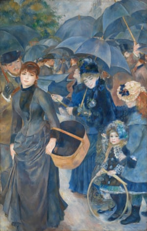 The Umbrellas (1881-6) by Pierre-Auguste Renoir. The National Gallery, London