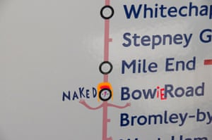 Naked Bowie Road