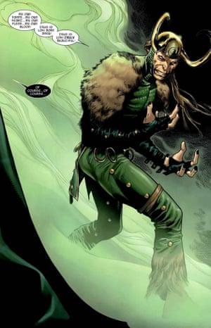 Loki from Marvel comics