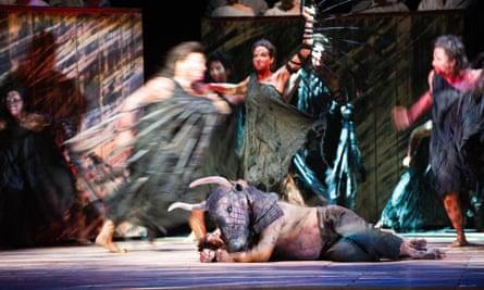 John Tomlinson in The Minotaur at the Royal Opera Housein 2013.