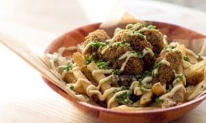 French fries fusion … Rose City Kitchen's Mediterranean take on poutine