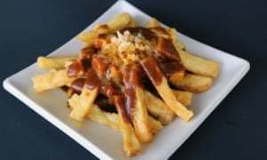 A Japanese-style curry poutine topping at Kaiju.