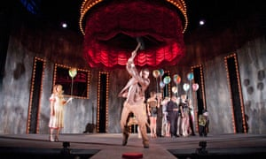 Pressing buttons … The Funfair by Simon Stephens is the first play staged at Home, a new venue in Manchester.